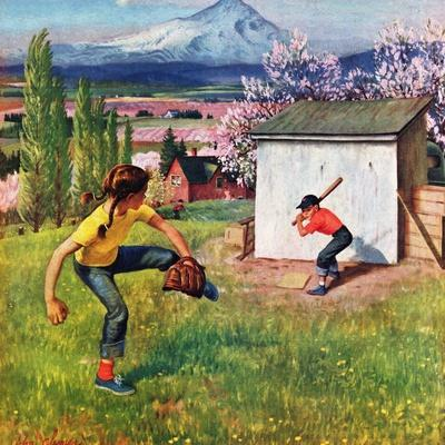 """Oregon Baseball"", April 21, 1951"
