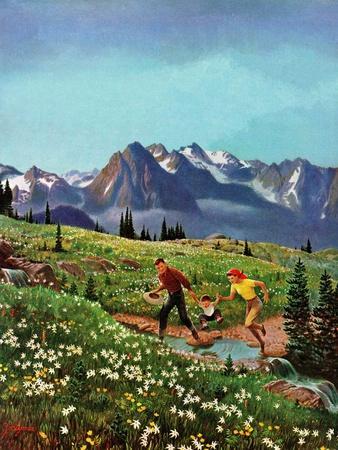 """Picnic On Mt. Ranier"", July 17, 1954"