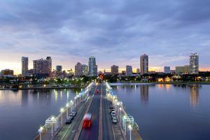 Florida, Saint Petersburg, Skyline, Tampa Bay, Pier, Pinellas County by John Coletti