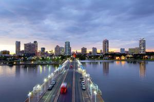 Florida, Saint Petersburg, Skyline, Tampa Bay, Pier, Pinellas County by John Coletti