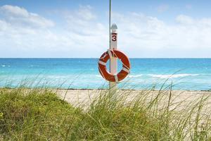 Florida, Surfside, Miami Beach, North Miami Beach, Lifeguard Buoy by John Coletti