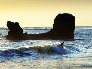 Playa El Tunco, El Salvador, Pacific Ocean Beach, Popular With Surfers, Great Waves by John Coletti