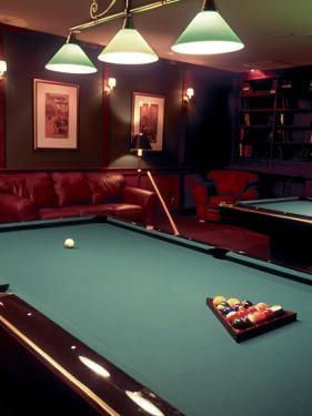 Racked Set of Balls, Boston Billiards, MA by John Coletti