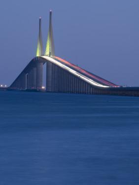 Sunshine Skyway Bridge, Tampa Bay, Saint Petersburg, Florida by John Coletti
