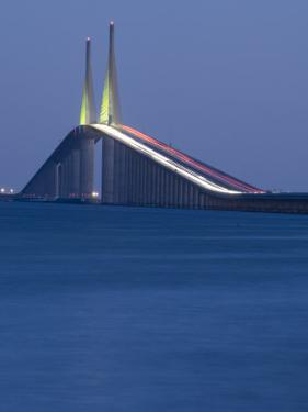 Sunshine Skyway Bridge, Tampa Bay, Saint Petersburg, Florida by John Coletti