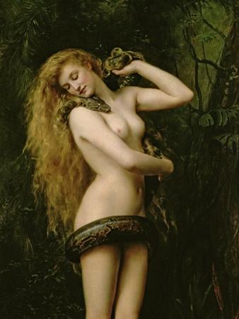 Lilith, 1887 (Detail) by John Collier