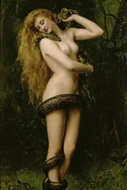 Lilith, 1887 by John Collier