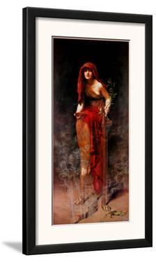 Priestess of Delphi by John Collier