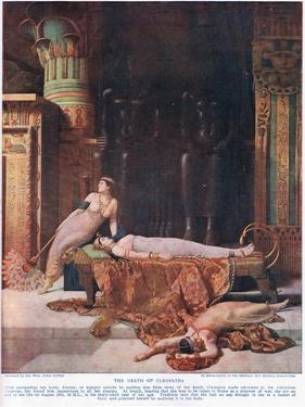 The Death of Cleopatra, C.1920 by John Collier