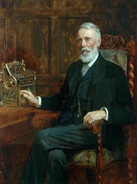 The Right Honourable Samuel Cunliffe Lister (Baron Masham of Swinton), 1901 by John Collier
