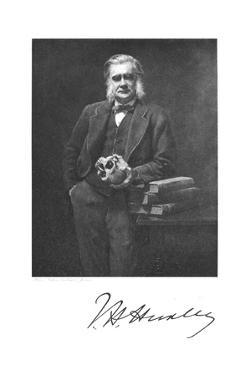 Thomas Henry Huxley, English Biologist, 1883 by John Collier