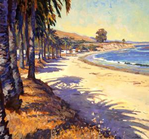 Refugio Beach by John Comer