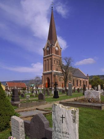Church and Cemetery, Lillehammer, Norway