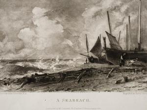 A Seabeach by John Constable