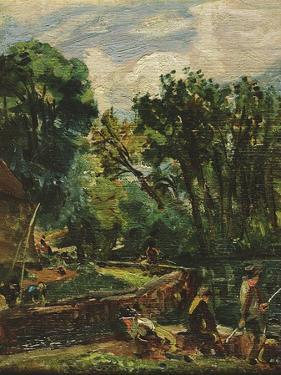 A Study for the Young Waltonians by John Constable