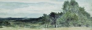 A View at Hursley, Hampshire, 1804 by John Constable
