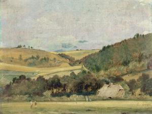 A View Near Arundel, 1837 by John Constable