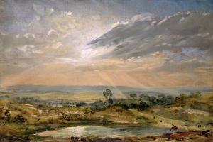 Branch Hill Pond, Hampstead by John Constable