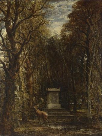 Cenotaph to the Memory of Sir Joshua Reynolds, 1833-1835 by John Constable