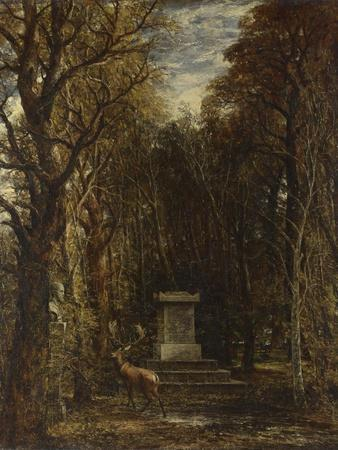 Cenotaph to the Memory of Sir Joshua Reynolds, 1833-1835