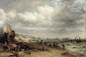 Chain Pier, Brighton by John Constable