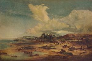 Coast Scene with Church, c1824 by John Constable