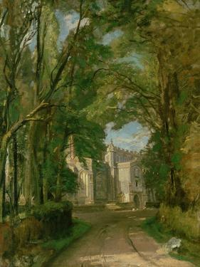 East Bergholt Church by John Constable