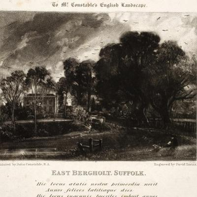 East Bergholt by John Constable