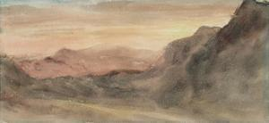 Eskhause, Scawfell, 1806 by John Constable