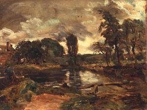Flatford Mill from the Lock, C.1811 by John Constable