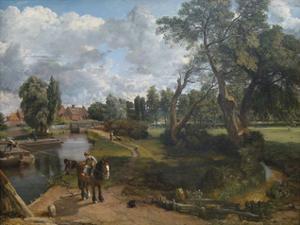 Flatford Mill (Scene on a Navigable River) by John Constable