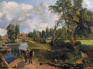 Flatford Mill ('Scene on a Navigable River') by John Constable