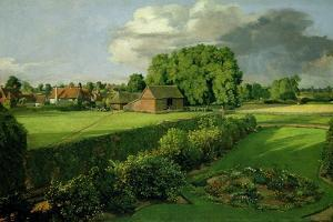 Golding Constable's Flower Garden, 1815 by John Constable