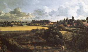 Golding Constable's Kitchen Garden, 1815 by John Constable