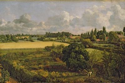 Golding Constable's Kitchen Garden, 1815