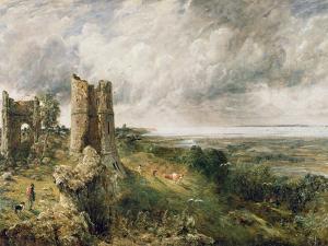 Hadleigh Castle, 1829 by John Constable