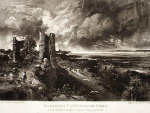 Hadleigh Castle Near the Nore by John Constable