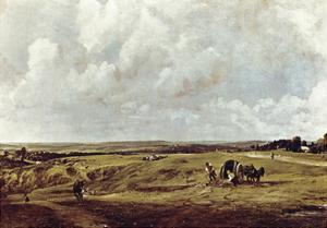 Hampstead Heath 1820 by John Constable