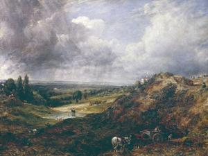 Hampstead Heath, Branch Hill Pond by John Constable
