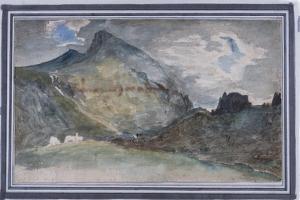 Hellvellyn, 1806 by John Constable