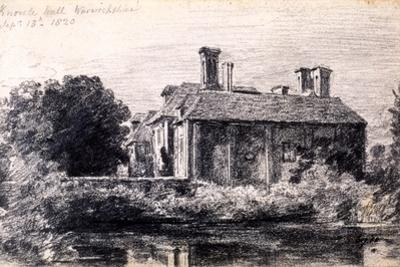 Knowle Hall, 1820 by John Constable