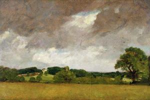 Malvern Hall from the South-West, 1809 by John Constable