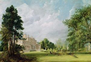 Malvern Hall, Warwickshire, 1821 by John Constable