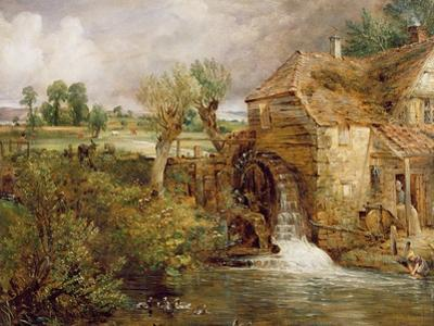 Mill at Gillingham, Dorset, 1825-26 by John Constable