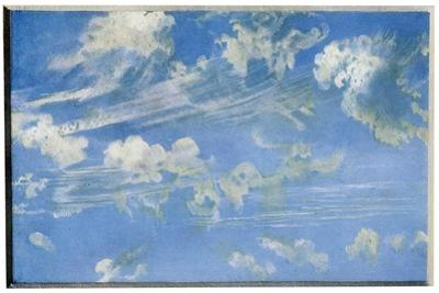 Nature: Cloud Study, C1822 by John Constable