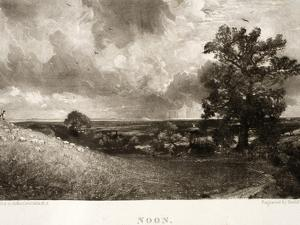 Noon, from Various Subjects of Landscape Characteristic of English Scenery by John Constable