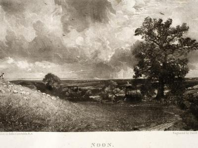 Noon, from Various Subjects of Landscape Characteristic of English Scenery