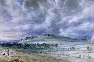 Old Sarum by John Constable