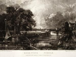 River Stour by John Constable