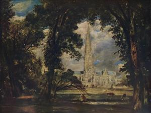 Salisbury Cathedral, c1823 by John Constable